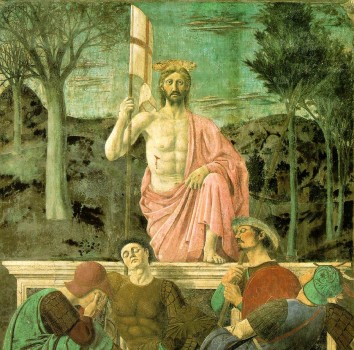 """Resurrection"" by Piero della Francesca"