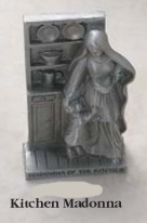 Pewter Kitchen Madonna